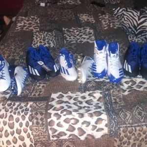 Adidas size 10 football cleats